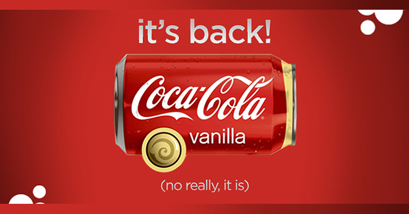 Coca Cola Vanilla in Pakistan
