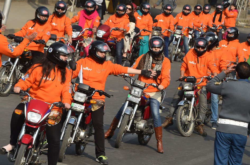 Women Motor Cycle Rally