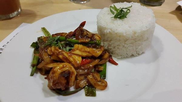 Chop Chop Wok special