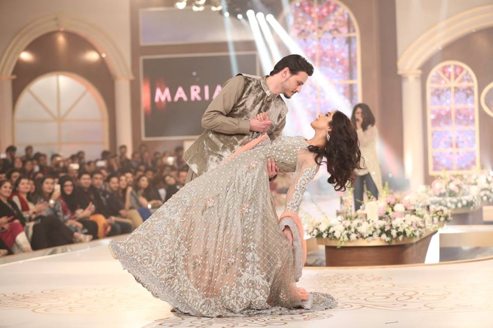 Maya Ali and Osman Khalid for Maria B at tbcw'15