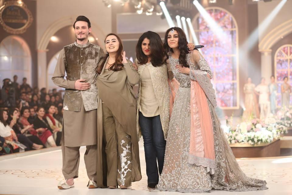 Maya Ali and Osman Khalid for Maria B at tbcw'15