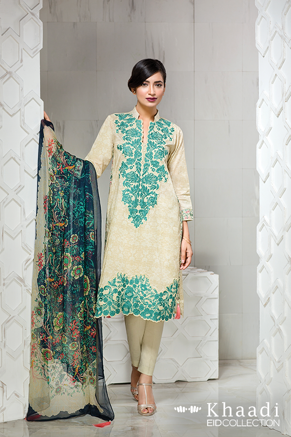 Latest Khaadi Eid Collection 2018 on Sale With Price