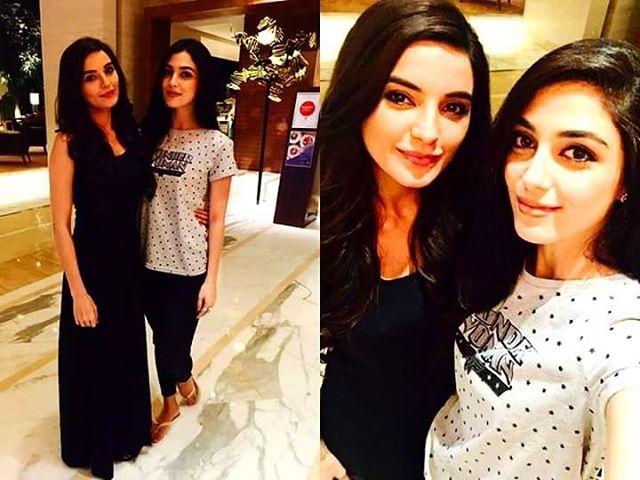 Maya Ali & Sadia Khan