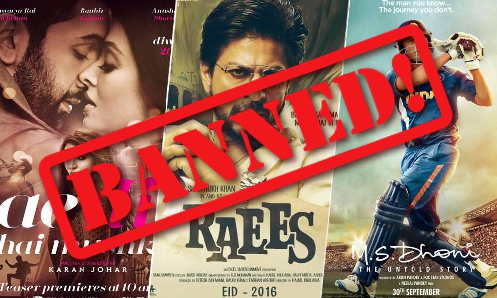 bollywood movies ban in Pakistan