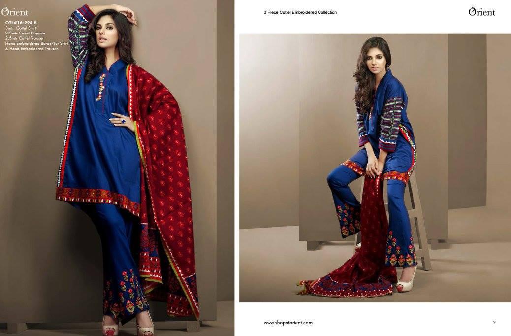 Orient Textiles Winter Collection 2016