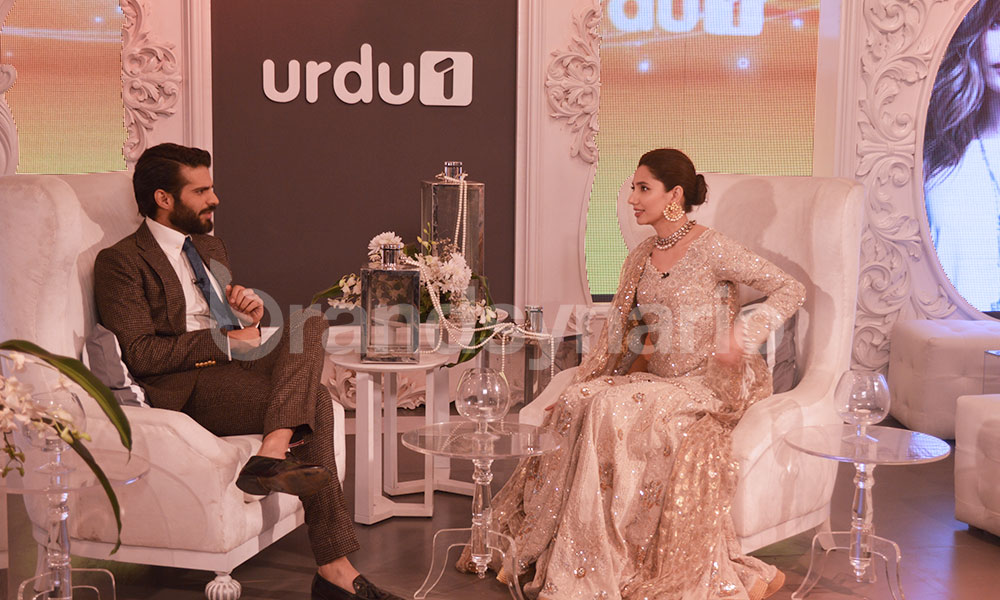 Celebrities at Urdu1 Lounge FPW 2015 Day 3