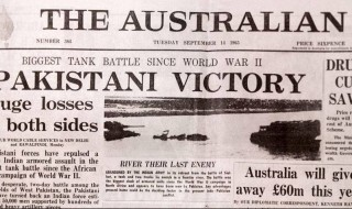1965-India-Pakistan-War-Memorabilia-The-Australian-newspaper-14-September-1965-edition-Photos-and-Mementos-of-1965-Indo-Pak-War