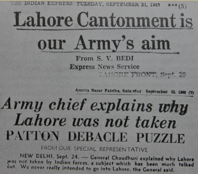 1965-Indo-Pak-War-Memorabilia-Headlines-of-The-Indian-Express-newspaper-about-1965-Indo-Pak-War-Photos-and-Mementos-of-1965-War