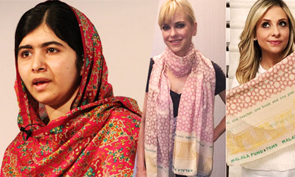 Malala Fashion Line with TOMS