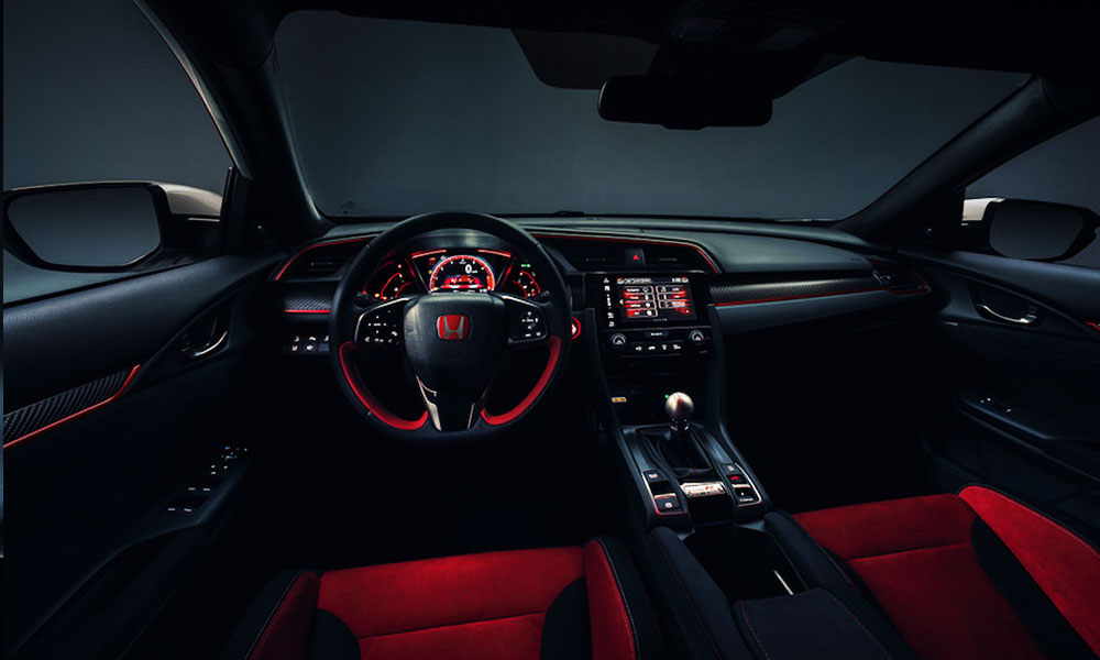 honda civic type r 2017 fastest car makes global debut at. Black Bedroom Furniture Sets. Home Design Ideas
