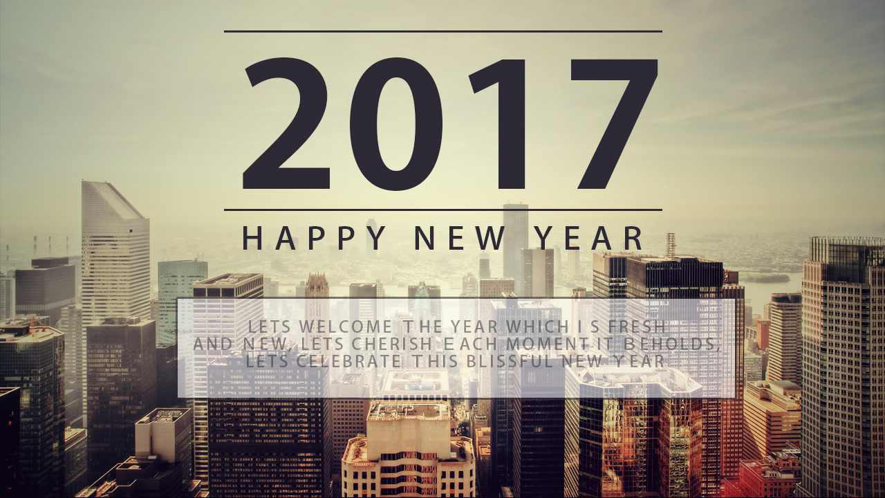 New Year 2017: Greeting Messages & Quotes - Brandsynario