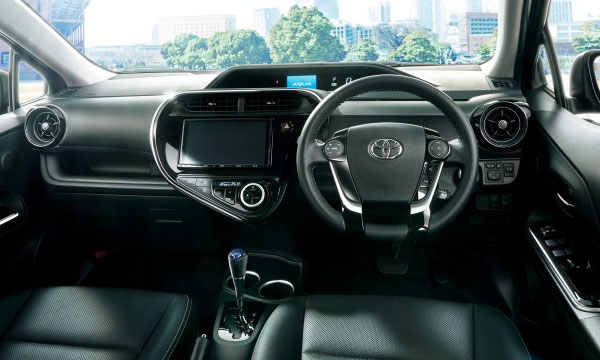 Toyota Aqua 2018 Firstlook Revealed Brandsynario