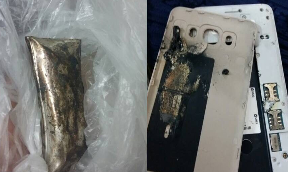 Samsung Galaxy J7 (2016) Explosion Reported in Pakistan