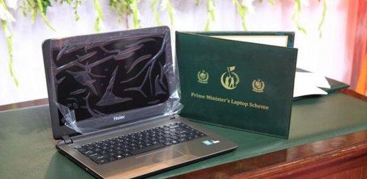prime minister's laptop scheme
