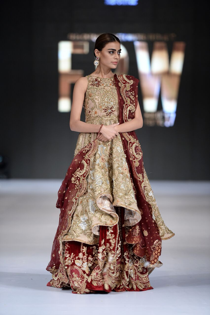 7f5a6b9601 With works of maroon and gold and other signifying combination of colours,  finely embroidered hems of dupatta, gorgeous glimmery and sparkling  lehengas with ...