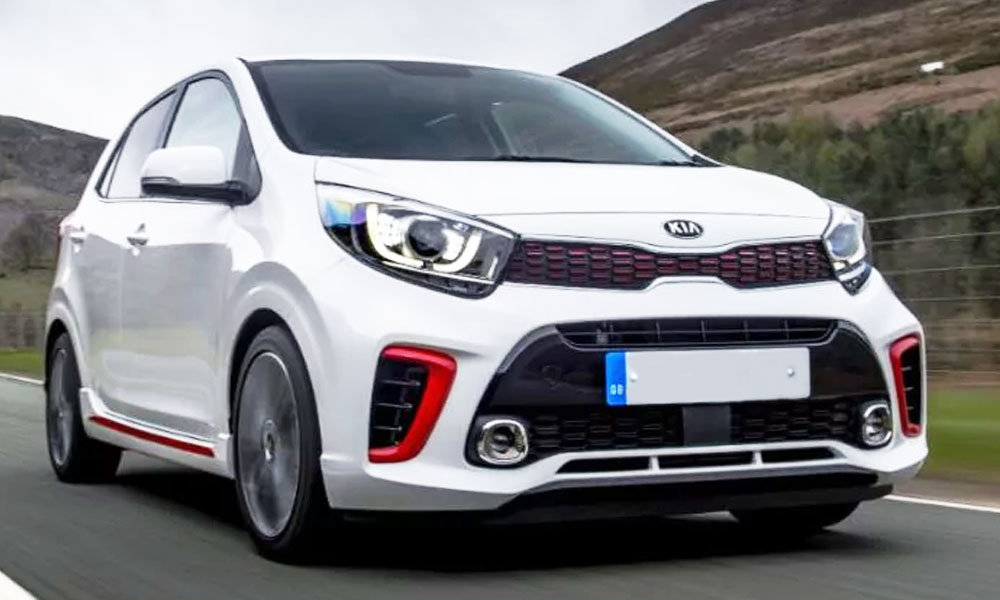 Kia Picanto Hatchback Seen On The Streets In Pakistan Brandsynario