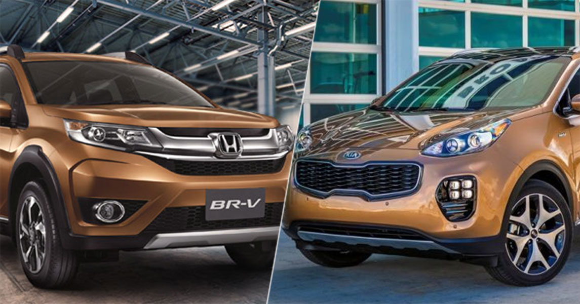 Honda Br V Vs Kia Sportage 2018 Specs Features Price Brandsynario