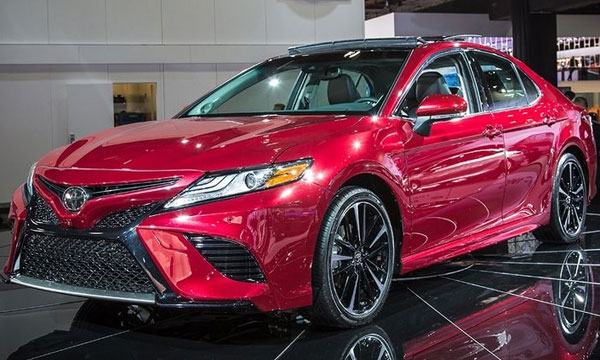 Toyota Unveiled 2018 Camry At The 2017 New York International Autoshow