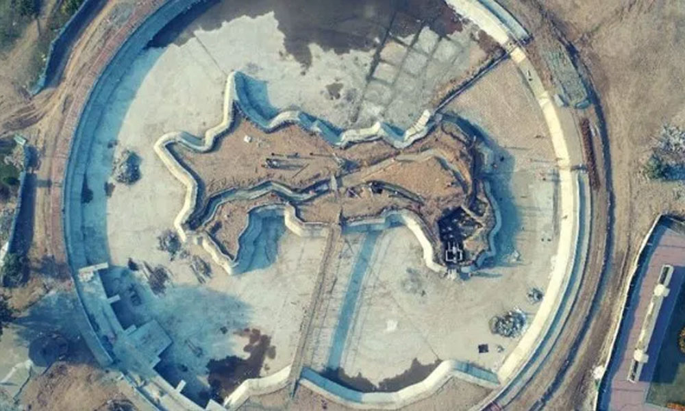 Map Of Pakistan Lake In Lahore Under Construction Pictures