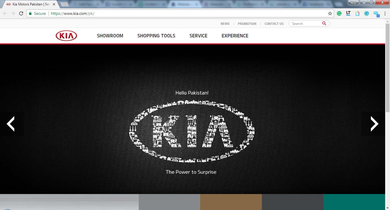 KIA Lucky Motors Website Officially Launched in Pakistan