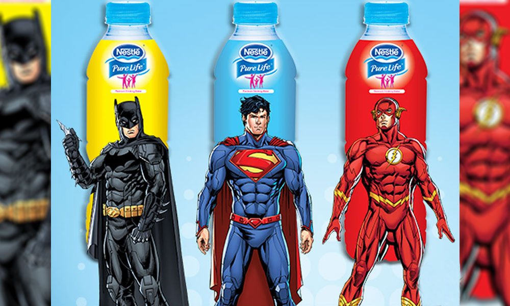 NESTLÉ PURE LIFE Superheroes are Promoting the Power of