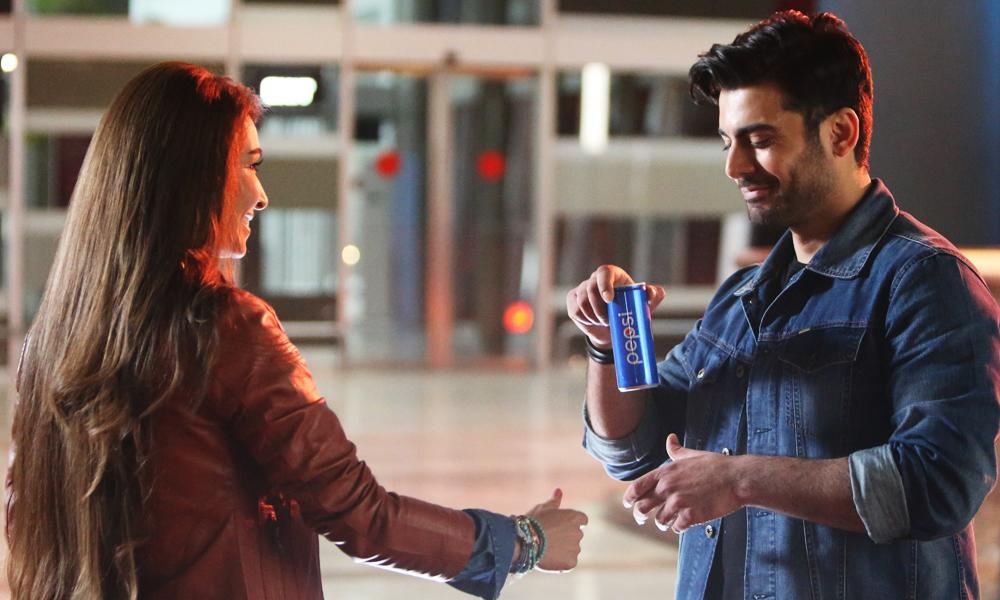 Pepsi's Latest Ad ft  Fawad Khan & Reema is LIT - Brandsynario