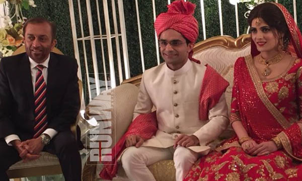 shahzeb khanzada wedding