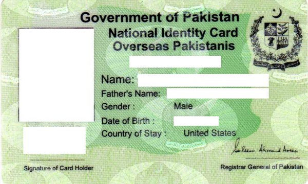CNIC Fee Structure by NADRA Pakistan Changed Ahead of