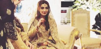aisha khan's wedding
