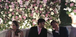 unaid jamshed son wedding