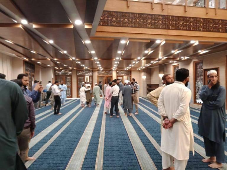 junaid jamshed mosque