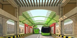 metro bus project karachi
