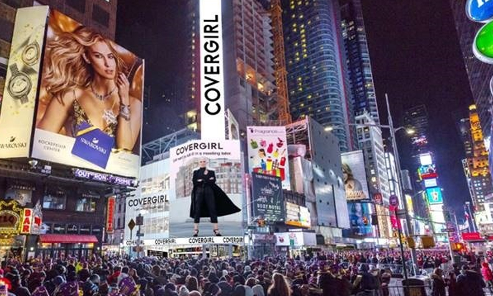 CoverGirl to Open First-Ever Store On Times Square