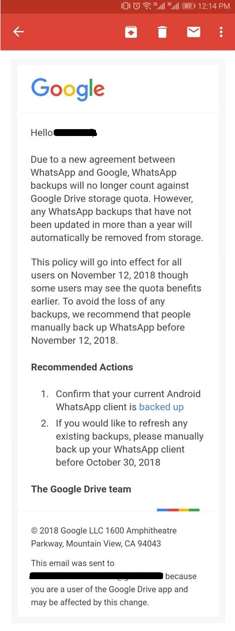 WhatsApp is Planning to Delete Your Chat History! - Brandsynario