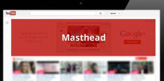 Youtube masthead
