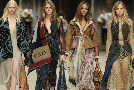 Burberry fashion
