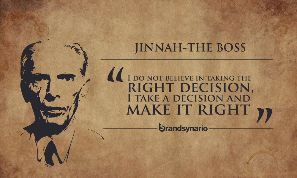 10 Quotes By Muhammad Ali Jinnah That Prove He Is The Real Boss