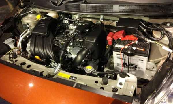 Datsun GO Engine
