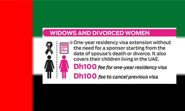 UAE Visa policy for divorcees and widows