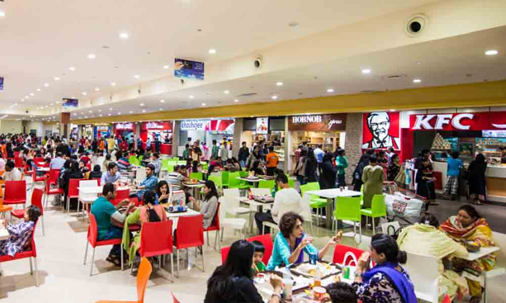 food courts in karachi