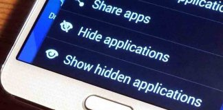 how to hide apps on android and iphone