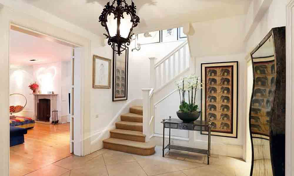 Imran Khan & Jemima Goldsmith's Home
