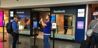 Facebook Pop-up Store
