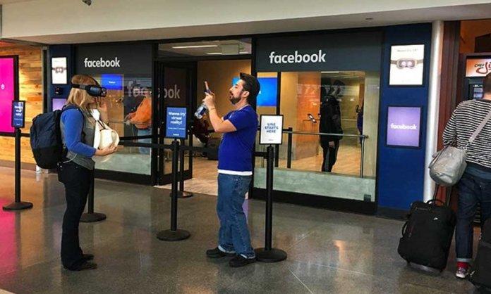 Facebook Pop-up Store
