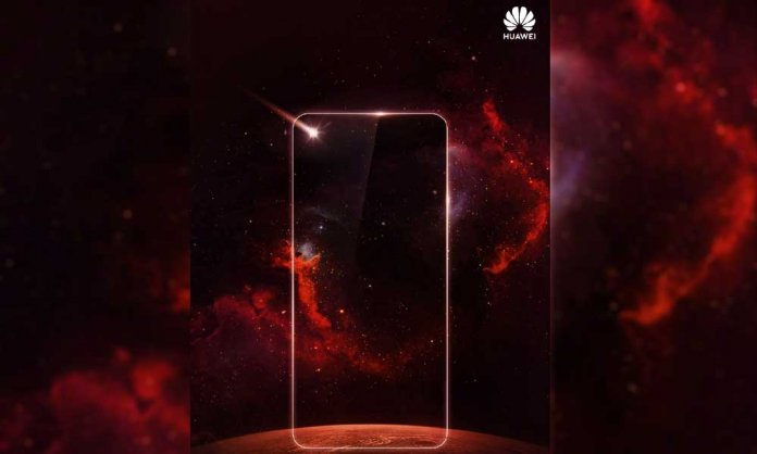 Huawei Hole Screen Phone