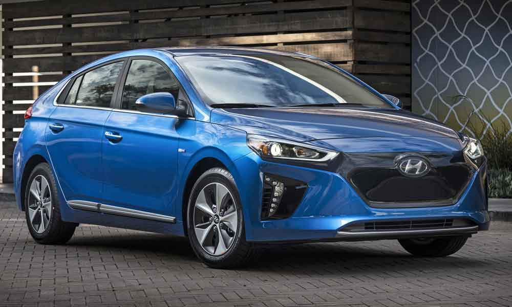 The Hyundai Ioniq 2019