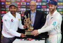 Pakistan vs. New Zealand Test Series