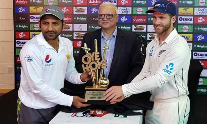 Pakistan vs. New Zealand Test Series