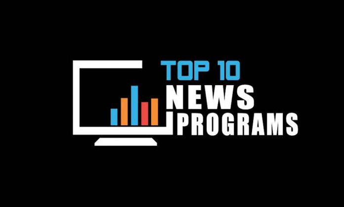 Top 10 News Programs