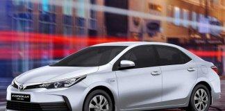 Toyota Corolla GLi and XLi